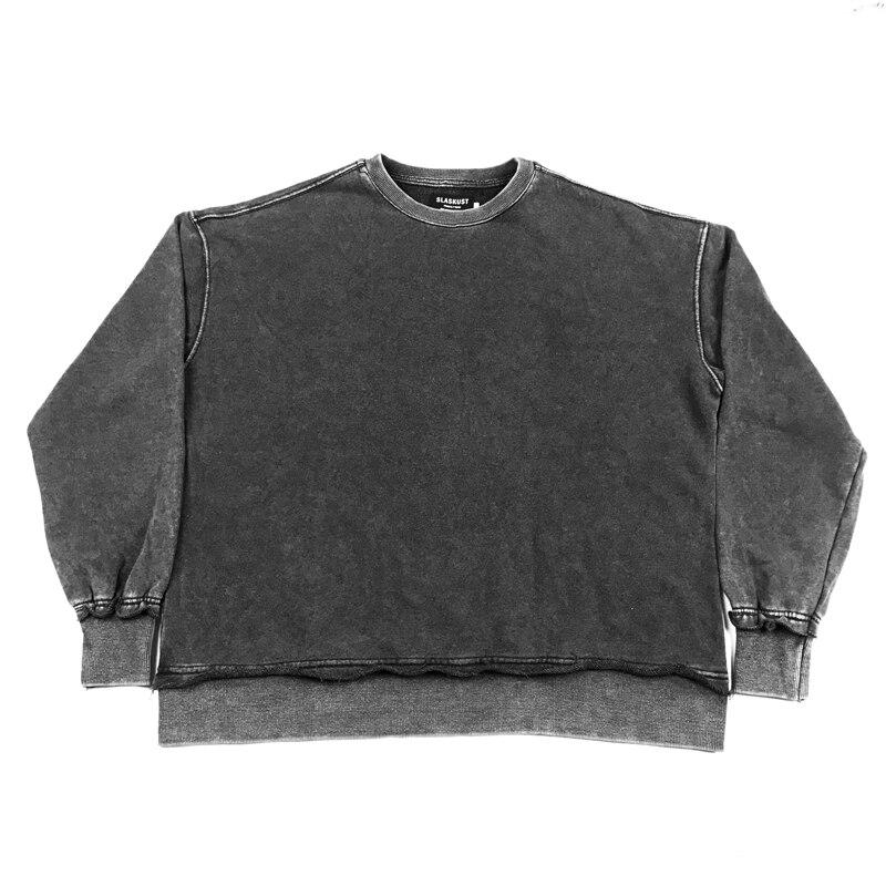 Jesus is king Kanye West Black Distressed Sweatshirt  2