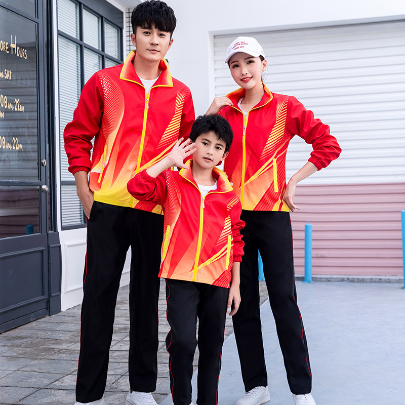 Spring And Autumn Junior High School Young STUDENT'S School Uniform High School Students Business Attire Men And Women Long Slee
