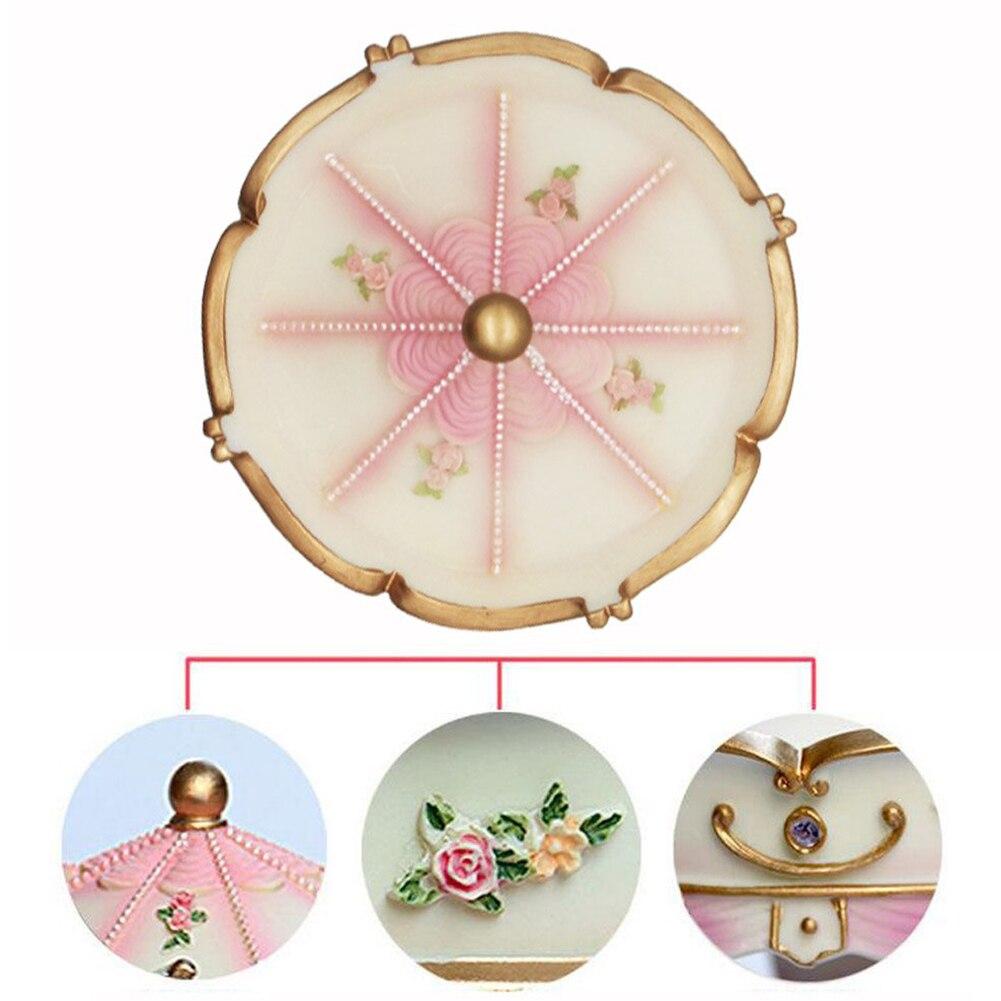Clockwork Mechanism Romantic Decor Music Box Wedding Handwork LED Light Luxury Carousel Birthday Color Changing Valentine's Day