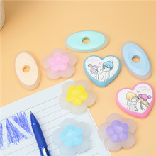 Erasable gel pen eraser Cute and easy to wipe clean Fast and effortless without tearing paper