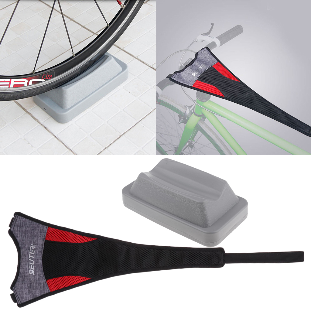 Bike Front Wheel Turbo Trainer Riser Training Fit Support Block Cycle Bicycle //
