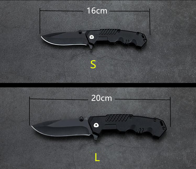 57HRC Folding Knife Tactical Survival Knives Hunting Camping Blade Edc Multi High Hardness Military Survival Knife Pocket 3