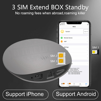 No roaming abroad SIMadd iKos 3 SIM 3 Standby Activate Online at the Same time WiFi Router Android for iPhone 6/7/8/X iOS 7 12