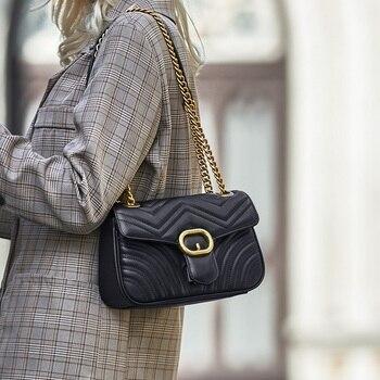 ZOOLER Exclusive Cow leather bag Genuine Leather women messenger bags fashion leather shoulder bag purse bolsa feminina#FL200