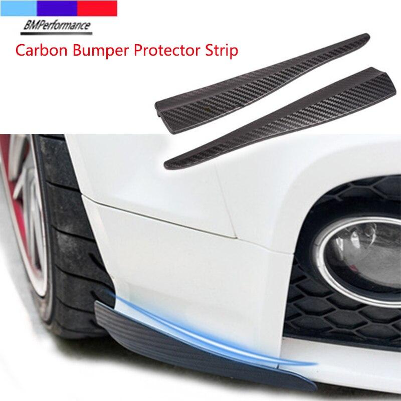 УГЛЕРОДНЫЙ автомобильный спойлер, противоударный бампер, наклейка для Bmw X5 E70 X6 E71 E72 G20 G30 G31 G38 G15 G32 G11 G12 G01 G02 G05 G06