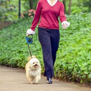 Image 3 - Correa retráctil para perro, Correa automática para perro cachorro, cuerda para mascota, para correr, para pasear, correa extensible para perros pequeños y medianos, productos para mascotas
