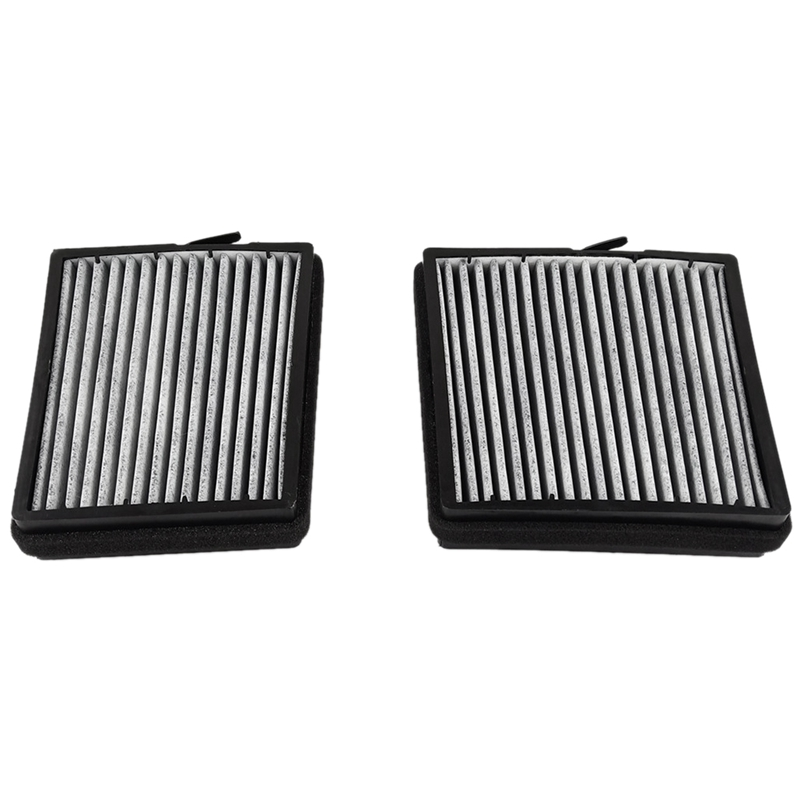 2Pcs Car Air Conditioner Cabin Air-Filter Kit for <font><b>Mercedes</b></font> <font><b>W203</b></font> W209 2038302118 image