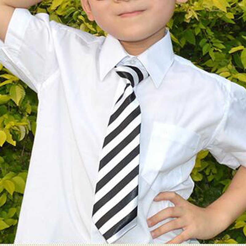 Anak Laki-laki Anak Perempuan Warna Elastis Adjustable Dasi Anak Dasi Bermotif Dasi Anak Kasual Leher Dasi HD0001b