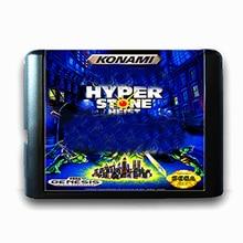 The Hyper Stone Heist 16 bit Sega MD Game Card for Mega Drive for Genesis US
