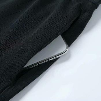 Podwójna kieszeń eksportowa 2019 w nowym stylu szybkoschnąca spódnica sportowa damska odzież do badmintona podzielona spódnica anty-ekspozycyjna spódnica do tenisa S tanie i dobre opinie Solid Color China Fudfs 8022
