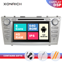2 Din Android 9 Car DVD Player For Toyota Camry 2007 2008 2009 2010 2011 Aurion 2006 Multimedia GPS Navi Radio Stereo Head unit