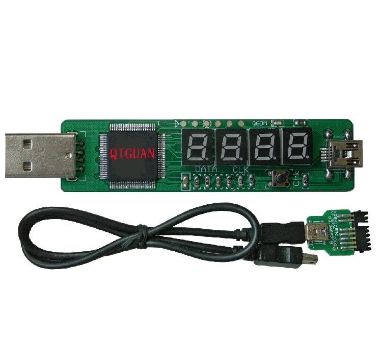 SM I2C Slot Motherboard Diagnostic 4 Bit Digit Debug Test POST Card IBM Laptop