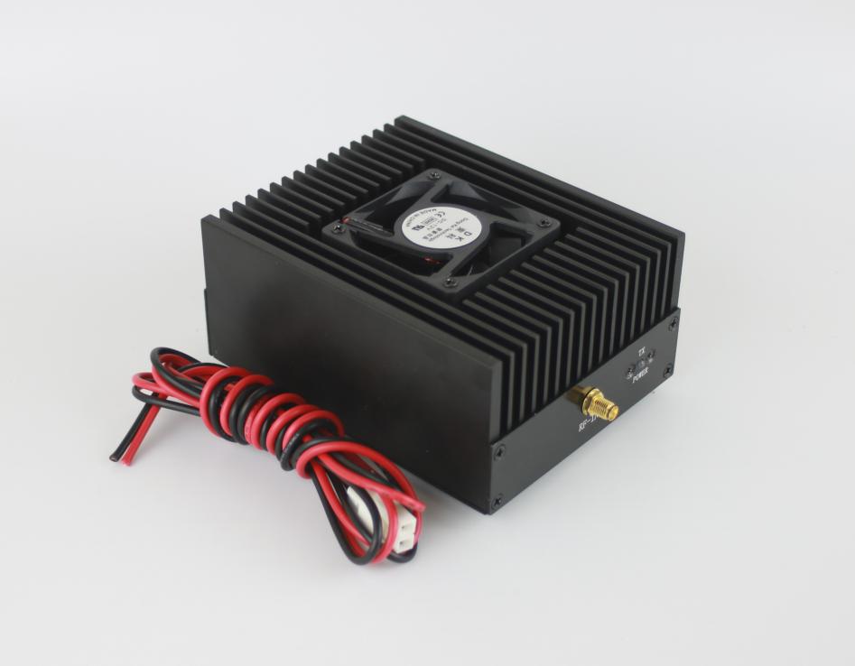 Digital RF Power Amplifier UHF 80W Radio DMR Amp FM Power Amp 400-470MHz