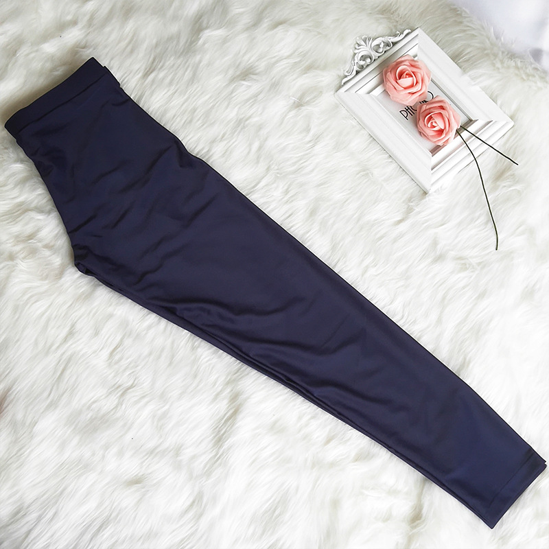 Dark Blue Men And Women Swimming Trunks Fashion Outdoor Long Sun-resistant Surfing Snorkeling Pants Trousers Swimming New Style