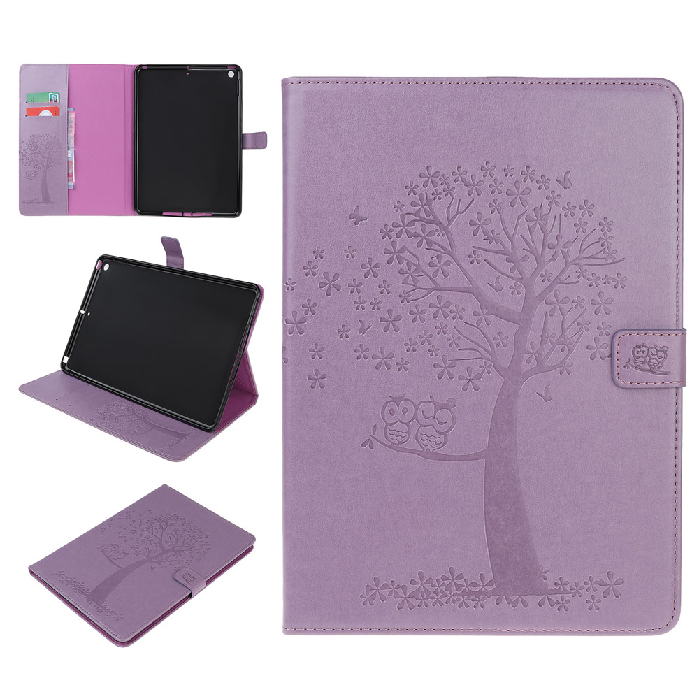 Case Clear Case For iPad 10 2 inch 2019 Stand Auto Sleep Smart Folio PU Leather Cover For