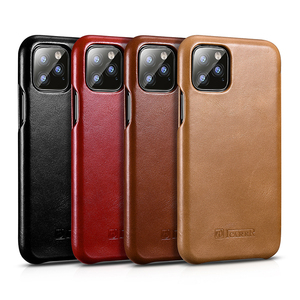 Image 5 - Original ICARER Genuine Leather Case For iPhone 11/ Pro/ Max Luxury Flip Cover Case For Apple iPhone 11 Pro Max Original Cases