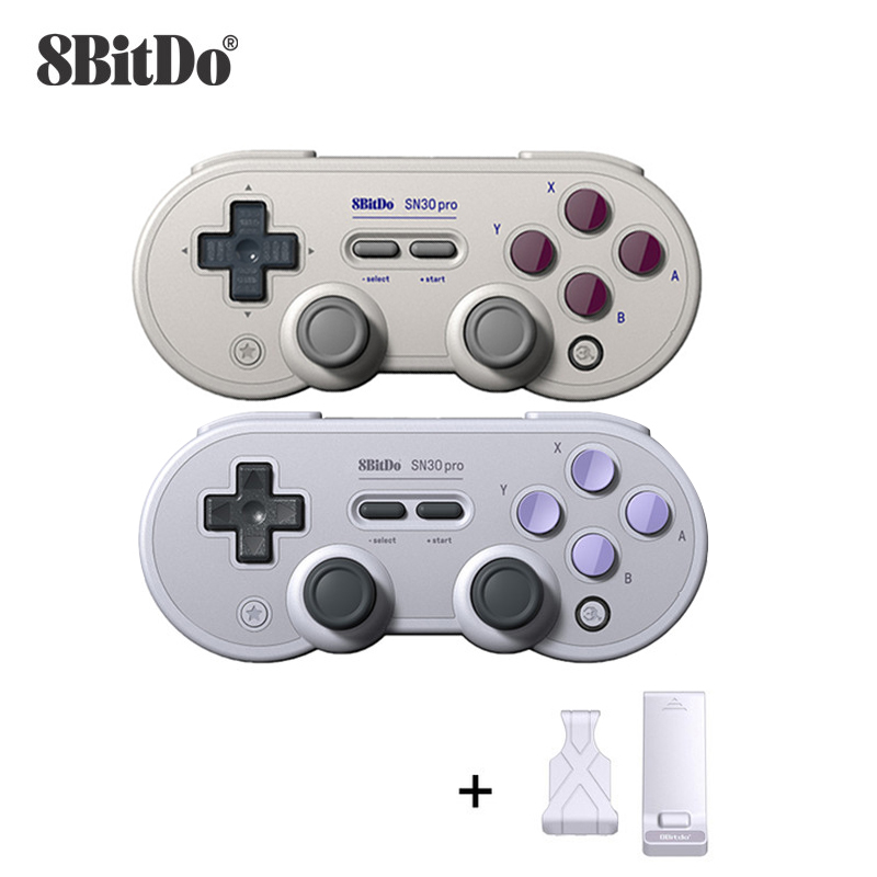 8BitDo Gamepad Controller for Nintendo Switch Windows Android macOS Joystick Wireless Bluetooth Controller SN30 Pro GamePad