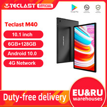 Teclast M40 Android 10 Tablet 1920x1200 10.1 cala sieć 4G 6GB RAM 128GB ROM UNISOC T618 Octa Core tablety PC Dual Wifi type-c
