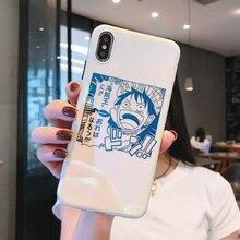 Manga Monkey D Luffy Case for iPhone
