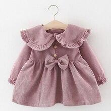 Toddler Girl Dress Christmas Kids New Winter 2pcs Autumn for 6M-24M Suit Fake