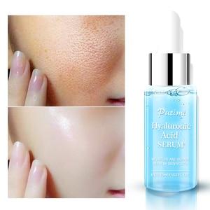 Image 1 - PUTIMI hyaluronik asit yüz serumu nemlendirici, anti kırışıklık Anti Aging kollajen gözenekleri küçültmek yüz özü beyazlatma yüz kremi