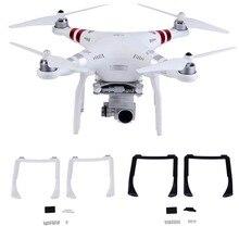 цена на 2PCS Landing Gear Kits for DJI Phantom 3 Professional Advanced Drone Spare Parts Height Extender Leg Replacement Feet 3A 3P 3SE