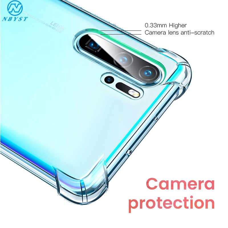 NBYST Luxury Shockproof Silicone Phone Case for Huawei P30 Lite Case P20 Pro P Smart 2019 Mate 20 10 Lite Honor 8x 10i Case