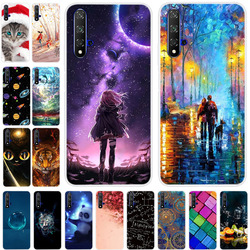 For Huawei Nova 5T Case Cover Bumper On For Huawei Nova 5T TPU Soft Silicone Back Cover Case For Huawei Nova 5T Nova5T 5 t Coque