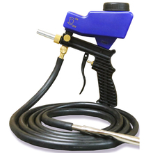Small Portable Sand Blaster Gravity Sandblasting Gun Pneumatic Blasting Machine Adjustable Set