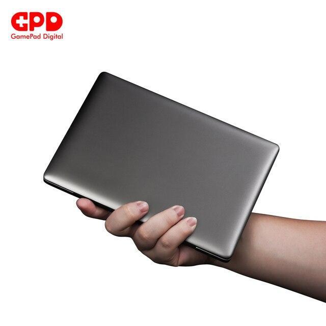 GPD P2 Max Ultrabook biznes Mini kieszonkowy Laptop Notebook 8.9 Cal Windows 10 RAM 16GB ROM 512GB ekran dotykowy odcisk palca odblokuj