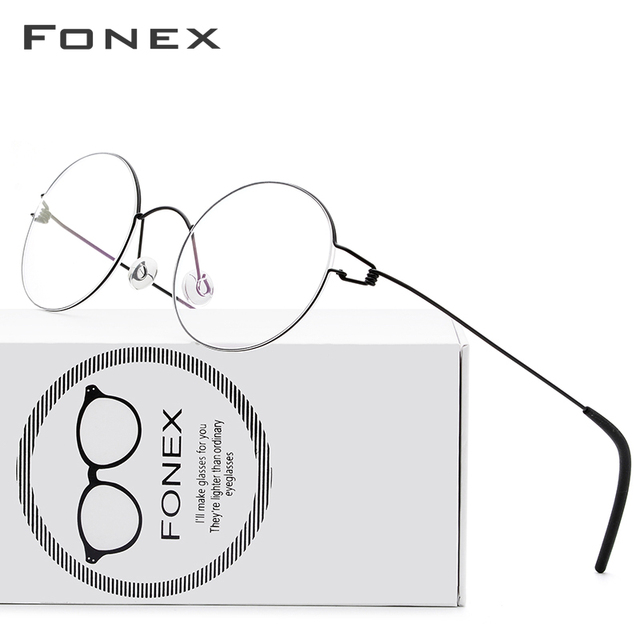 FONEX Round Optical Glasses