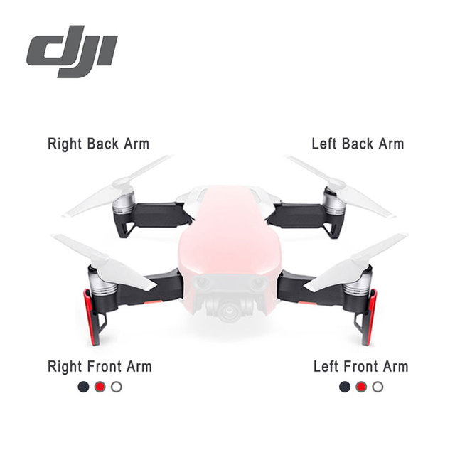 DJI Mavic Air Motor Arm Original Accessories Parts Front Left/Front Right/ Back Left/Back Right Repair Replacement