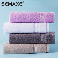Hand Towel SEMAXE Premium Set for Bathroom, Cotton High Water Absorption Soft & Fade-Resistant (4 Hand Towel Set)The new listing 1