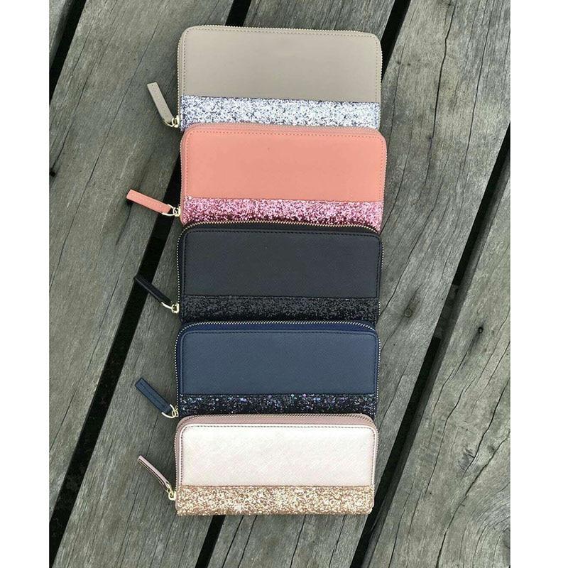 Card Phone Bag Purses And Handbags Holder Wrist Band Wallet Luxury Ladies Women Standard Zipper Long Fashion Unisex