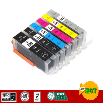 Compatible for PGI770 CLI771 PGI770 Ink cartridge suit for Canon PIXMA MG7770 etc. image