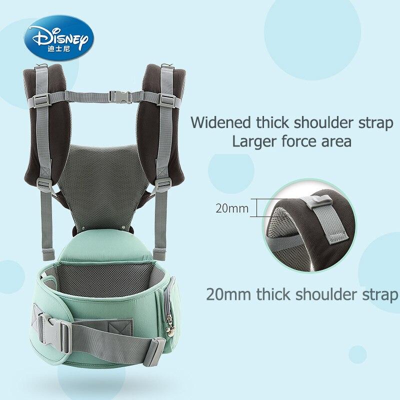 Disney ergonomic baby carrier backpack infant sling toddler waist wrap carrier baby holder kangaroo hipsit Mickey Minnie Gear