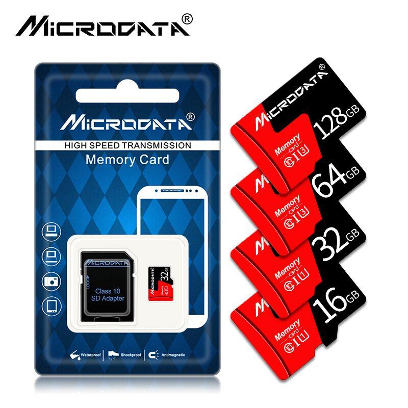 Adaptador Gratuito Tarjeta de Memoria SDXC Micro SD de 128 GB de Alta Velocidad Clase 10 SDXC
