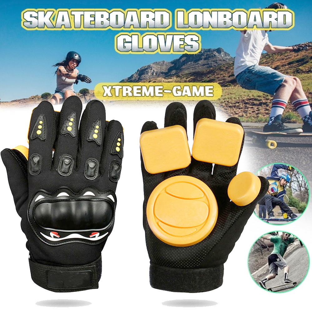 Skateboard Brake Gloves Skateboard Gloves Protector Slider Longboard Armguard Longboard Skateboard Gloves Palm Slide Protective