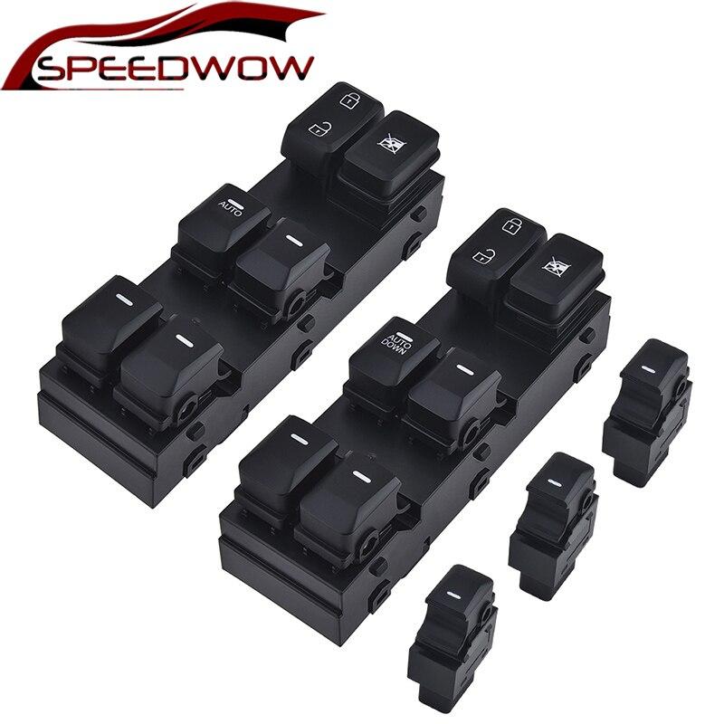 SPEEDWOW Автомобильный Электрический выключатель питания, новая кнопка управления окном для Kia Sportage 2011 2012 2013 2014 2015 16 OE #93570-1X000