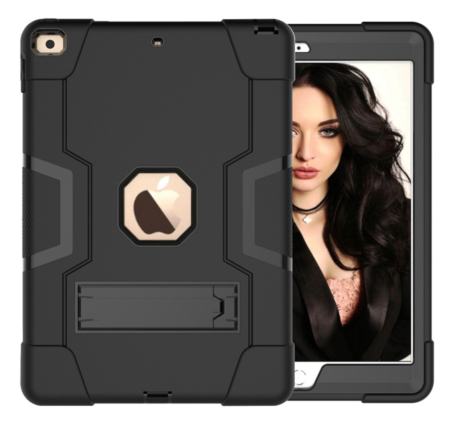 Black Black New Baby Safe Shockproof Armor Case For Apple iPad 10 2 2019 iPad 7 7th Generation