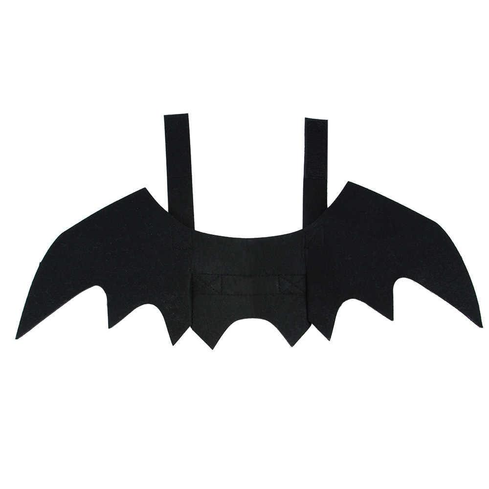 Carino Ali di Pipistrello Per Cane di Animale Domestico Del Gatto Costumi Cosplay Di Halloween Di Natale di Abbigliamento Divertente di Natale Spider Dress Up Accessori Per Animali Domestici