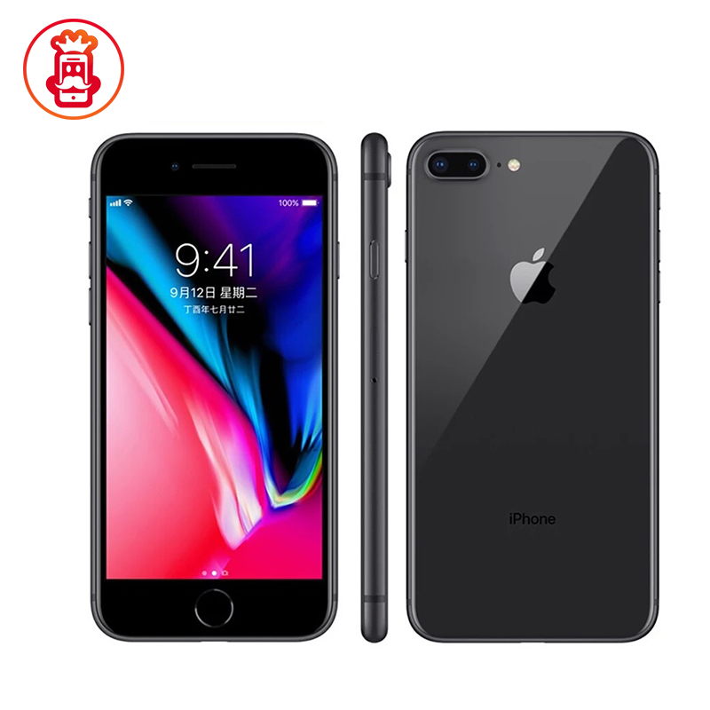 Original Apple iphone 8 Plus Hexa Core iOS 3GB RAM 64-256GB ROM 5.5 inch 12MP Fingerprint 2691mAh LTE used Mobile Phone
