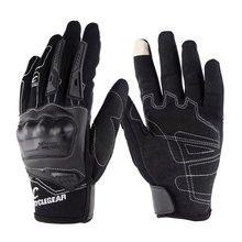 Мотоциклетные Перчатки дышащие сенсорные перчатки для езды на