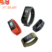 """Xiaomi Redmi Band Smart Wristband Fitness Bracelet Multiple Face 1.08"""" Color Touch Screen Sleep Track Heart Rate Monitor"""