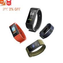 """Xiaomi redmi banda pulseira inteligente pulseira de fitness face múltipla 1.08 """"tela sensível ao toque cor monitor de freqüência cardíaca faixa sono"""