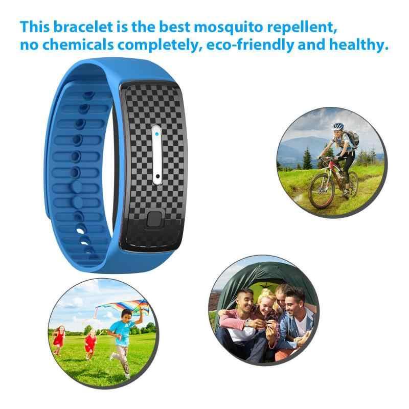 Ultraschall Mückenschutz Armband Kinder Wasserdichte Pest Insekt Stick Anti Moskito Armband Erwachsene Ultraschall Moskito Uhr