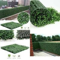 40*60Cm Kunstmatige Buxus Heggen Panelen Privacy Synthetische Balkon Hekwerk Ivy Hek Muur Home Garden Outdoor Decoration