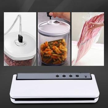 Vakum Yapıştırma Makinesi Ev En Iyi Vakumlama Makinesi Taze Paketleme Makinesi Gıda Tasarrufu Vakumlu Ambalaj Makinesi Dahil 10 Adet çanta Ab Tak