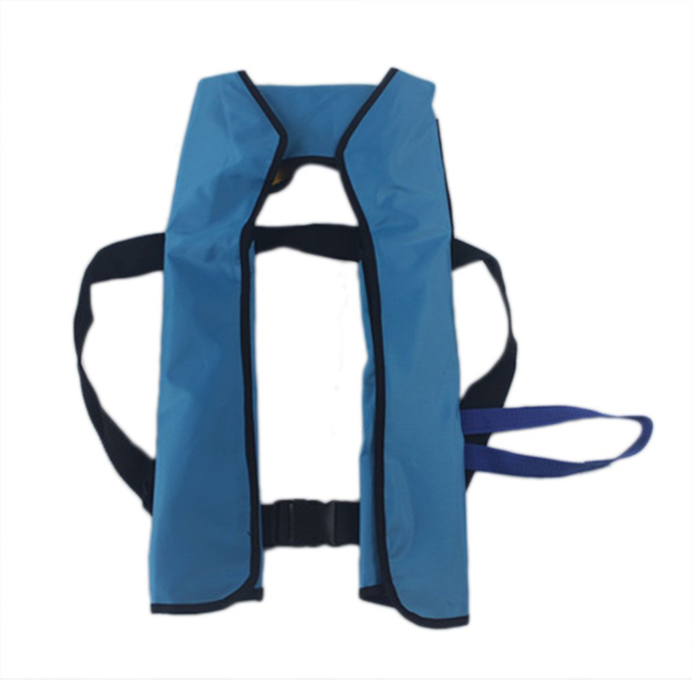 Adult Inflatable Life Jackets Rescue Vest Safe Waterproof 150N Outdoor Water Sports Fishing Boating Buoy Accessory