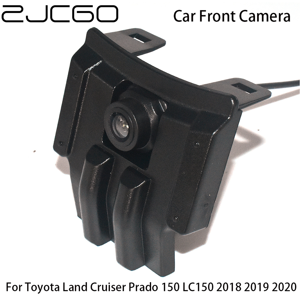 Car Front View Parking LOGO Camera Night Vision Positive Waterproof for <font><b>Toyota</b></font> Land Cruiser <font><b>Prado</b></font> 150 LC150 2018 <font><b>2019</b></font> 2020 image